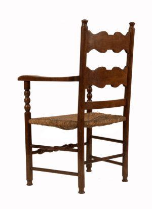 A ladderback armchair-1145