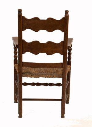 A ladderback armchair-1138