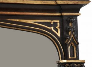 A Gothic Revival mirror-1277