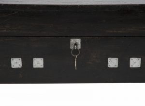 An ebonised pine toy chest -1299