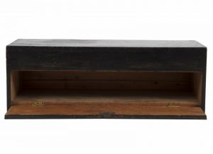 An ebonised pine toy chest -1297