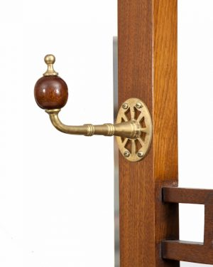 A good walnut Aesthetic Movement coat stand-1337