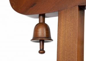 A good walnut Aesthetic Movement coat stand-1333