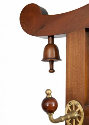 A good walnut Aesthetic Movement coat stand-1340