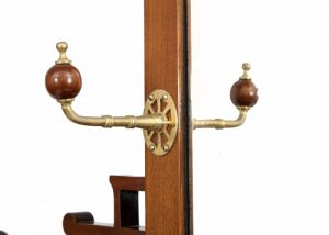 A good walnut Aesthetic Movement coat stand-1332