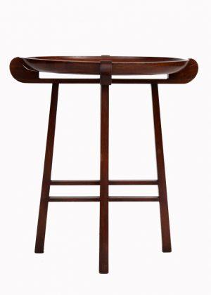 A good Liberty walnut table-1382
