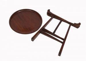 A good Liberty walnut table-1383