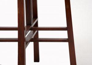 A good Liberty walnut table-1380
