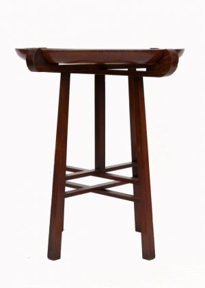A good Liberty walnut table-1379