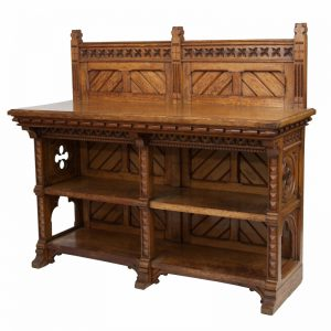 A good oak serving table-1447