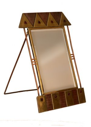 An unusual toilet mirror -1477