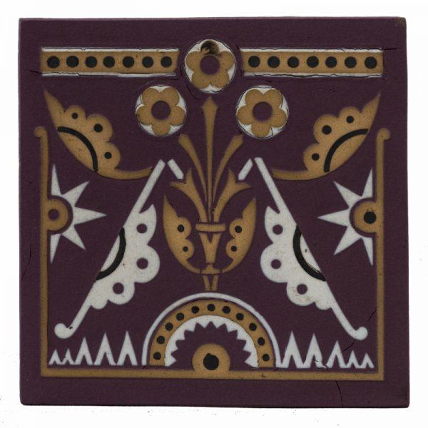 A rare Minton & Co.tile-0
