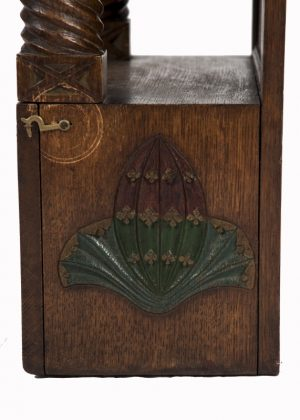 A small cabinet with pomegranate decoration-1573