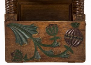 A small cabinet with pomegranate decoration-1575