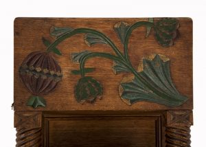 A small cabinet with pomegranate decoration-1574