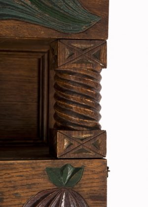A small cabinet with pomegranate decoration-1576