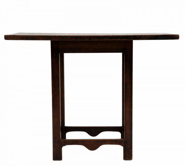 A rare small pine table-0