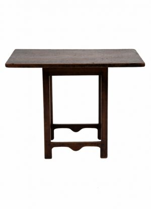 A rare small pine table-1607