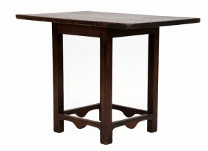 A rare small pine table-1606