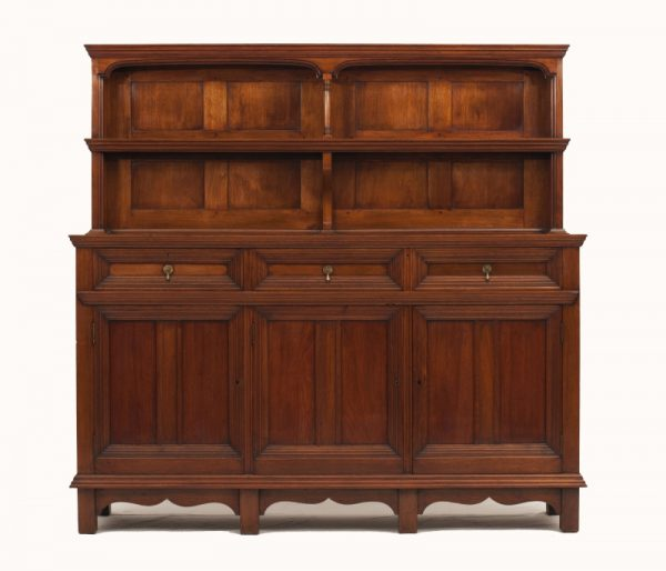 A walnut cabinet -0