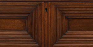 A walnut cabinet -1617
