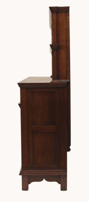 A walnut cabinet -1618