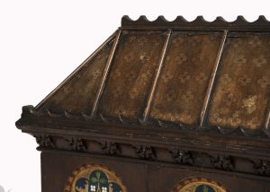 A Gothic Revival painted coffer -1629