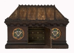A Gothic Revival painted coffer -1635