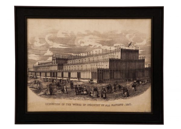 A framed souvenir of The Great Exhibition-0