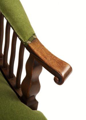 A mahogany armchair-1668