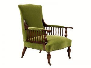 A mahogany armchair-1667