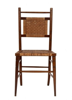 A pair of Aesthetic Movement side chairs-1751