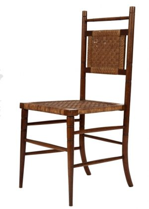 A pair of Aesthetic Movement side chairs-1752