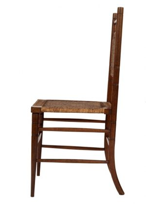 A pair of Aesthetic Movement side chairs-1753
