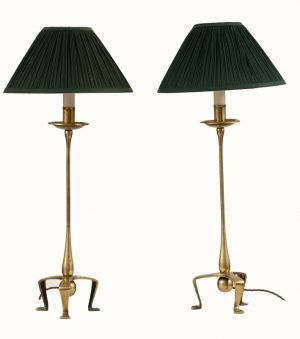 A pair of rare table lamps-0