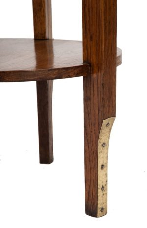 A Jugendstil oak table -1816