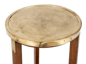 A Jugendstil oak table -1817