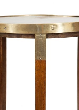 A Jugendstil oak table -1818