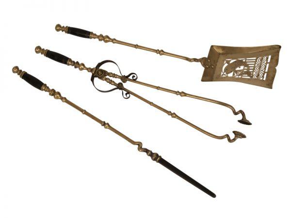 A rare set of fire tools-0
