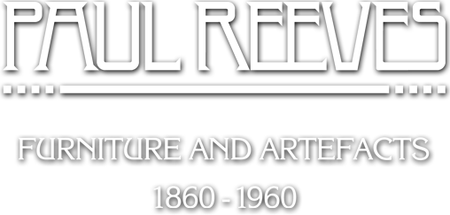 Paul Reeves British arts and crafts dealer
