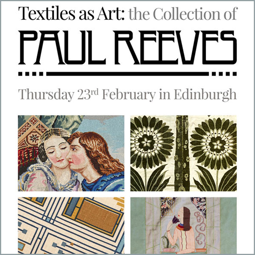 Paul Reeves - textiles as art