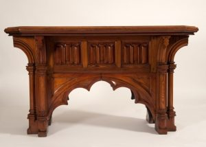 A Gothic Revival table