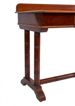 mahogany hall or side table