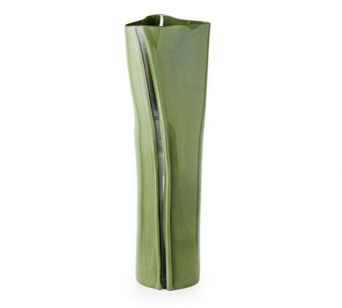 TONI ZUCCHERI SCOLPITO GLASS VASE Paul Reeves