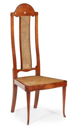 A walnut 'Phillippines' side chair