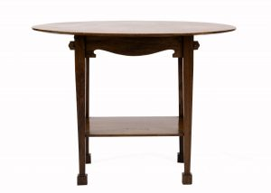 An Arts and Crafts oval table from Paul Reeves London