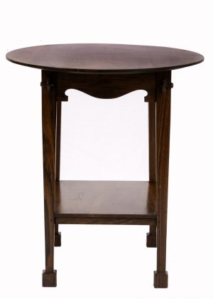An Arts and Crafts oval table