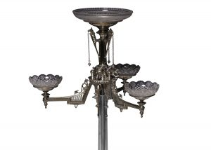 An Elkington and Co silver plated centrepiece