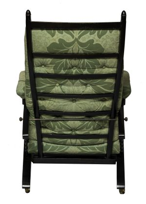 A classic Morris & Co. reclining chair by Paul Reeves London in green