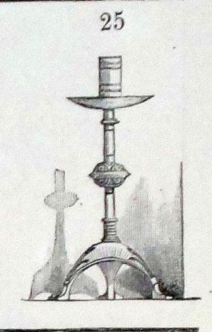 A pair of Hart, Son & Peard candelabra